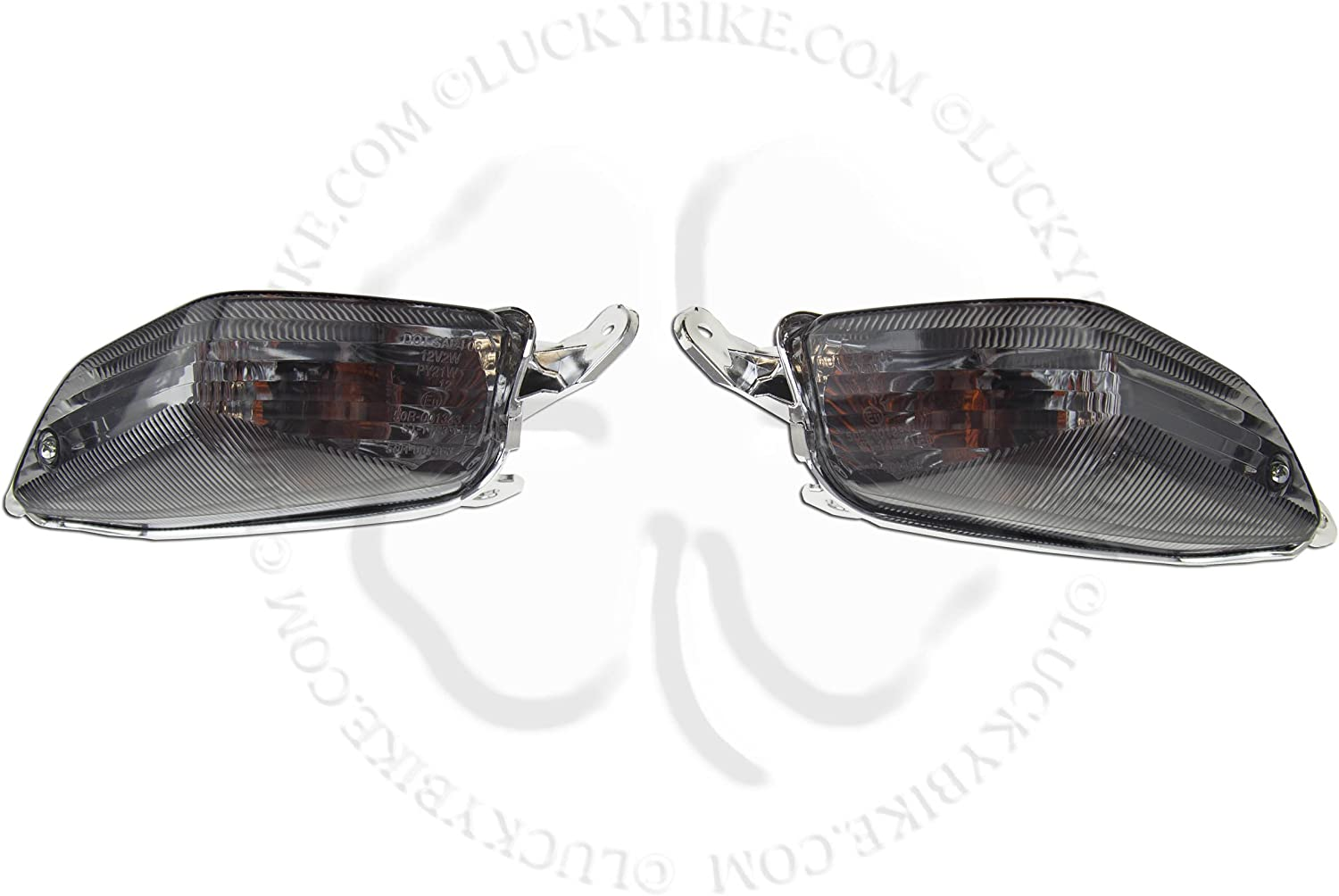 Rear Turn Signal NoCut For Kawasaki Ninja ZX 10R ZG 14 Euro Light Blinker Smoke