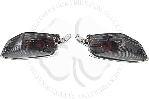Rear Turn Signal NoCut For Kawasaki Ninja ZX 10R ZG 14 Euro Light Blinker Smoke