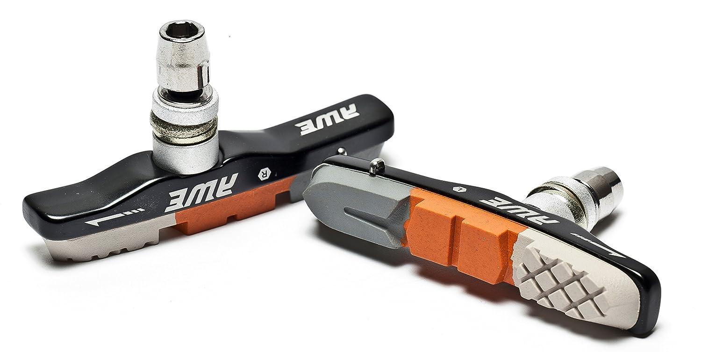 AWE® Triple contorno V las zapatas de freno gris/naranja/blanco 72mm
