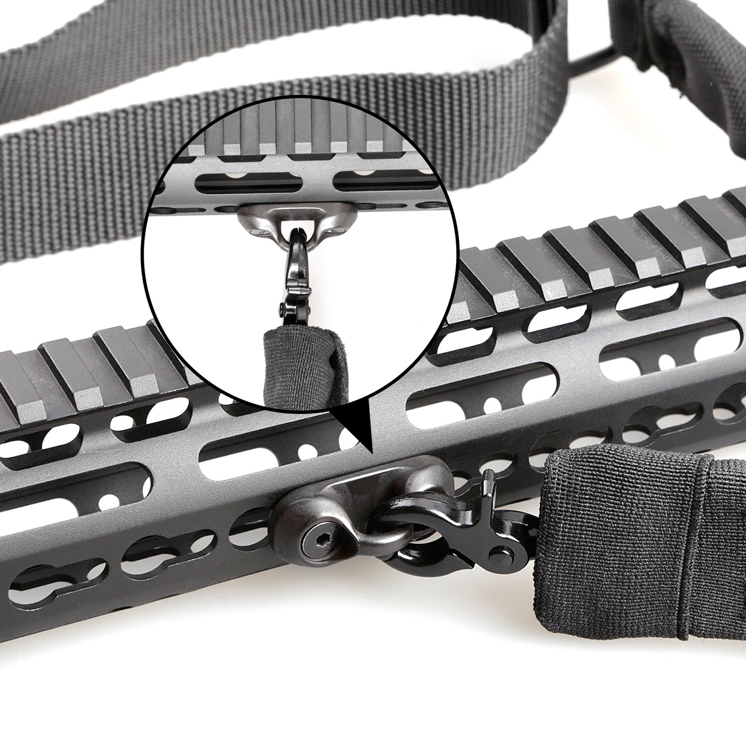Tough Tactical Tools Keymod Sling Attachment Adapter with 2 Point Gun Sling for Hunting Shooting or other Outdoor Sports by Tough Tactical Tools (Image #7)