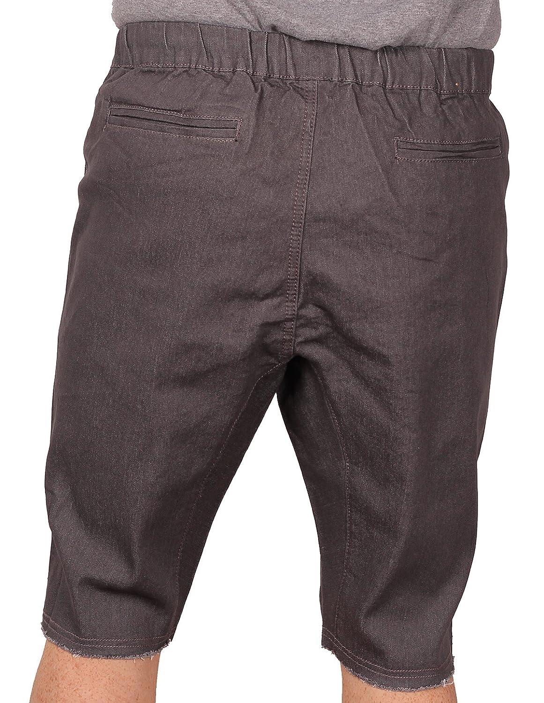 fea1f1eb37 Amazon.com: Blacksmith Men's Stretch-Twill Jogger Short: Clothing