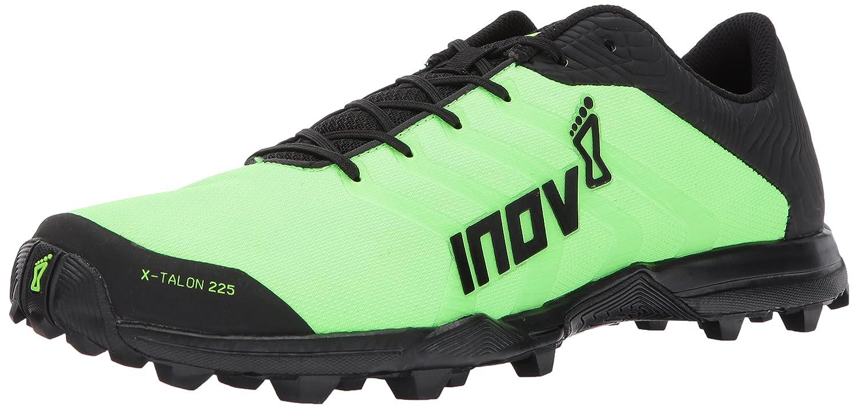 Inov-8 X-Talon 225 Unisex Sneaker B01N6HO0S3 M9.5 W11 D US|Green/Black