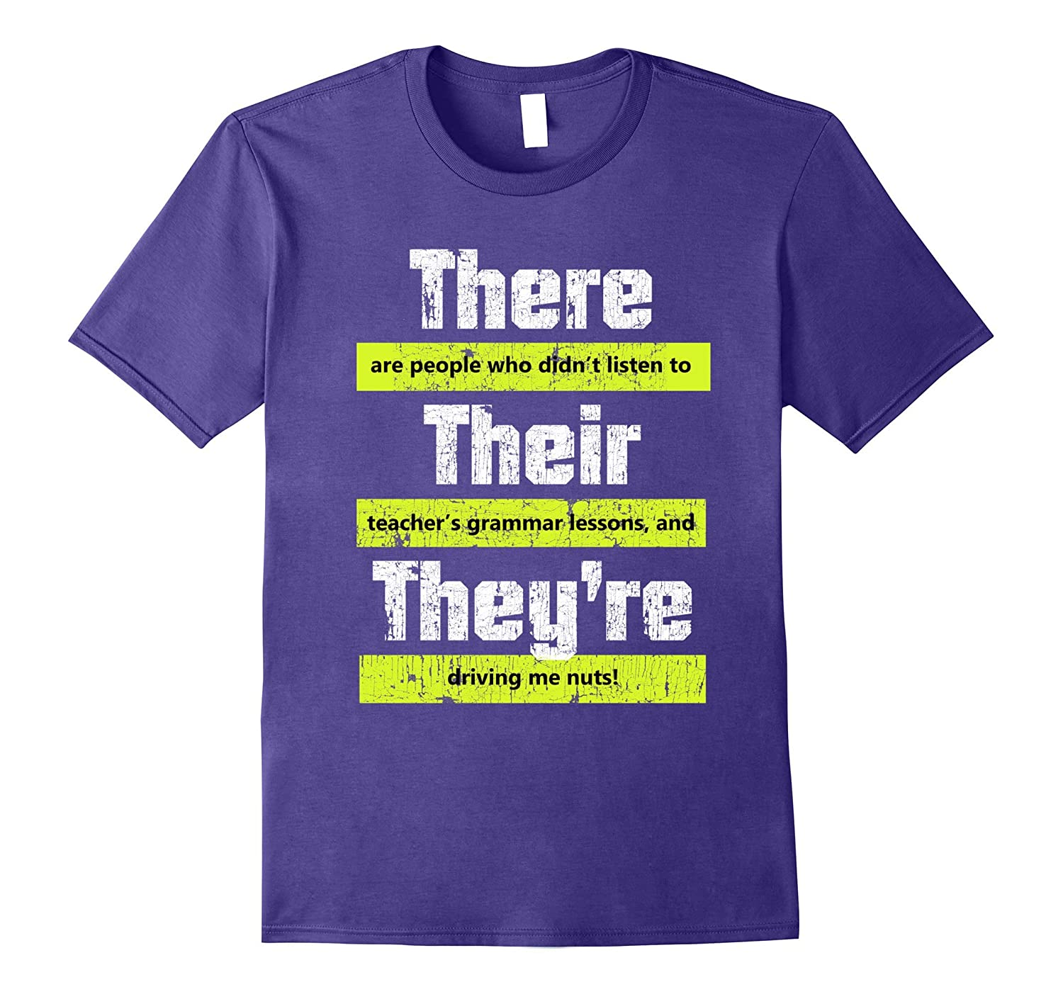 Funny English Teacher Grammar T-Shirt for Men and Women-ah my shirt one gift
