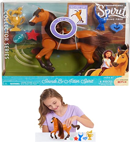 Dreamworks Spirit Riding Free Sound And Action Spirit Realistic Horse Sounds NEW