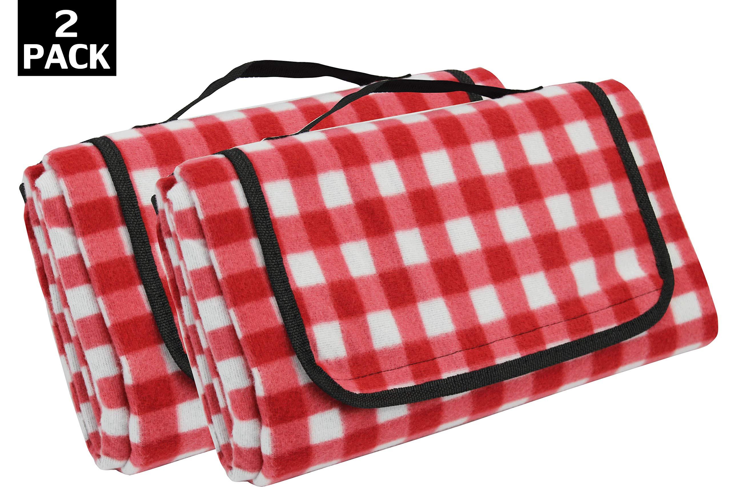 Extra Large Picnic Blanket [2 Pack]   Oversized