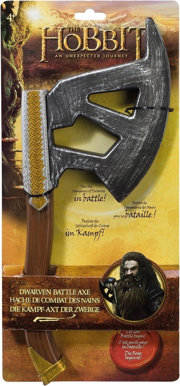 BD16049 Accessoire D/éguisement Hache de Combat Bilbo The Hobbit