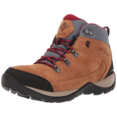 Columbia Women's Fire Venture Suede II Mid Boot, Waterproof & Breathable   Hiking Shoes