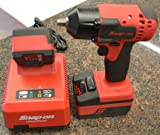 """Snap-On CT8810 3/8"""" Dr. 18V MonsterLithium Cordless Impact Wrench with 2-Batteries and Charger"""
