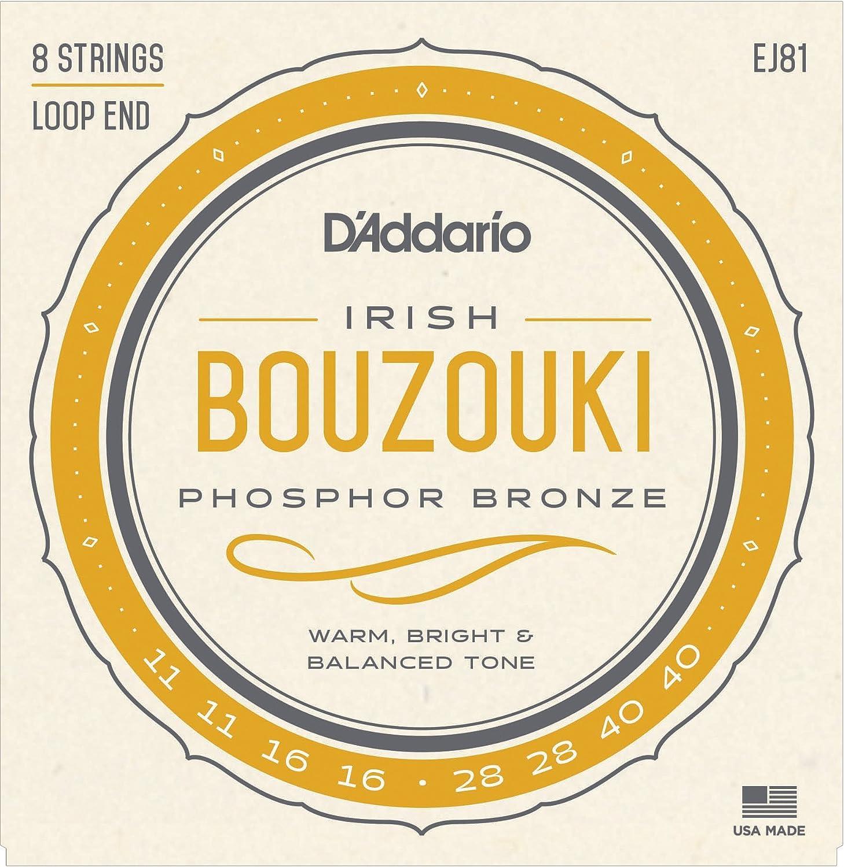 D'Addario EJ81 Irish Bouzouki Strings D'Addario