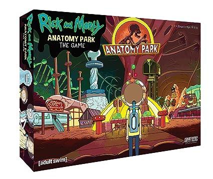 Cryptozoic Entertainment Rick y Morty Anatomía Park Juego: Amazon ...