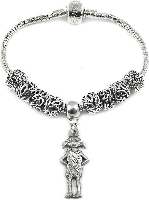 Harry Potter Dobby Braclet style Pandora avec pendentif en forme ...