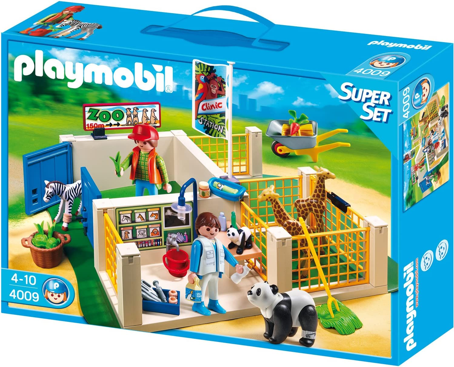 PLAYMOBIL - SuperSet clínica Veterinaria (4009)