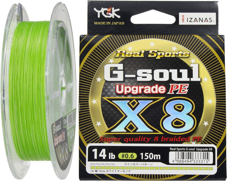 150/m YGK G-soul X8 Upgrade PE Angelschnur