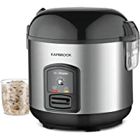 Kambrook Rice Master 5 Cup Rice Cooker KRC405BSS Silver,Black
