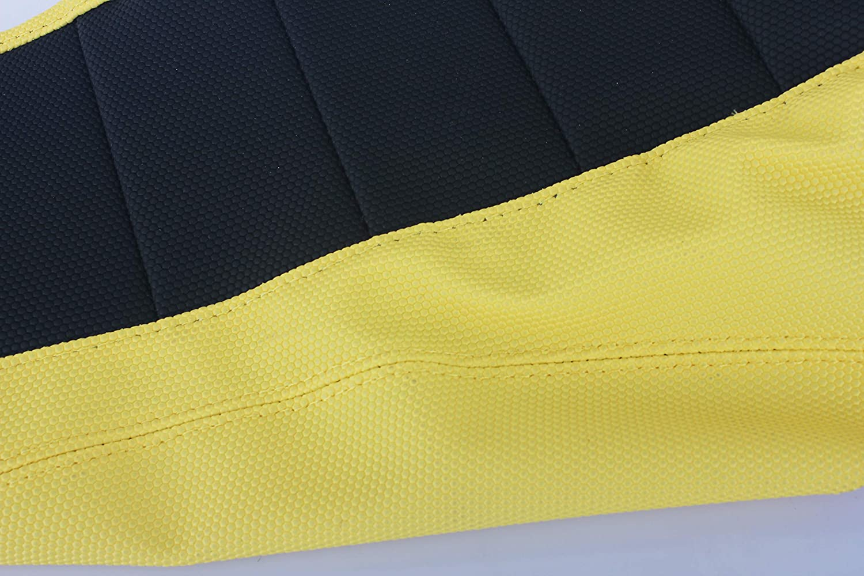 TARAZON MX Offroad Gripper Fundas para asiento de moto para Suzuki RM 125//250 2001-2011