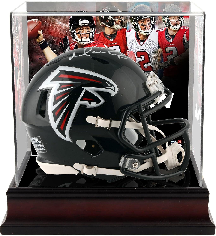 Matt Ryan Atlanta Falcons Autographed Riddell Speed Mini Helmet with Deluxe Mini Helmet Case - Fanatics Authentic Certified