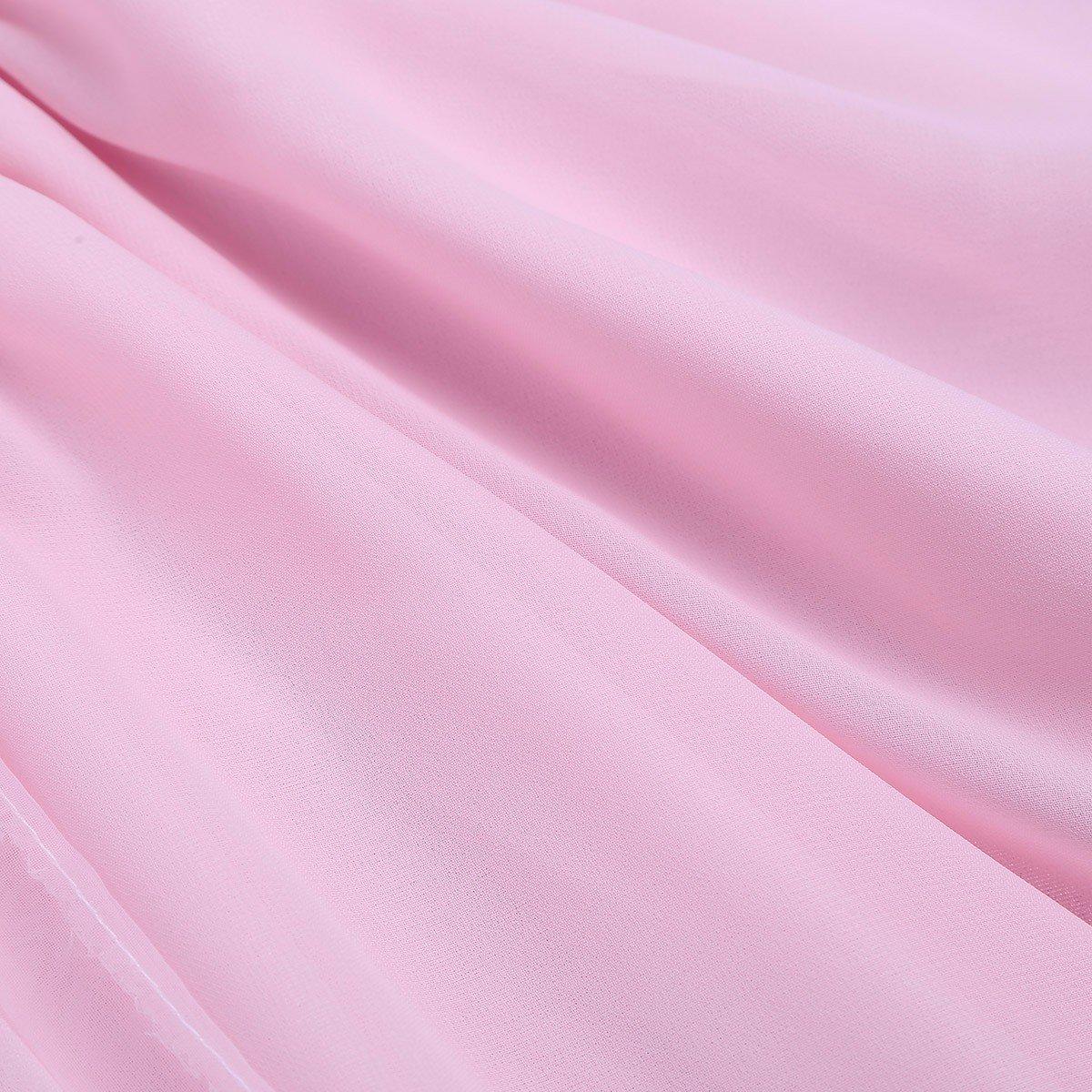fc0b68020a1 Tiaobug Fille Jupe de Ballet Classique Tutu Jupe de Danse en Mousseline de  Soie Courte Jupe ...