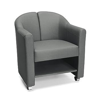 Amazon.com: ofm 880-slt Funda para Club silla, Slate ...