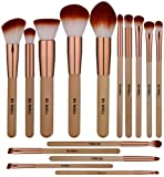 Amazon Price History for:BS-MALL Makeup Brush Set 15 Pcs Wooden Eyeshadow Lip Foundation Makeup Brush Set