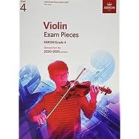 Violin Exam Pieces 2020-2023, ABRSM Grade 4, Part: