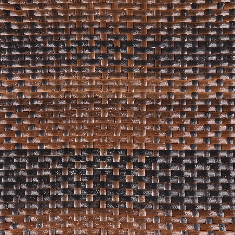 Amazon.com: ZENSTYLE - Mesa de mimbre para exteriores ...