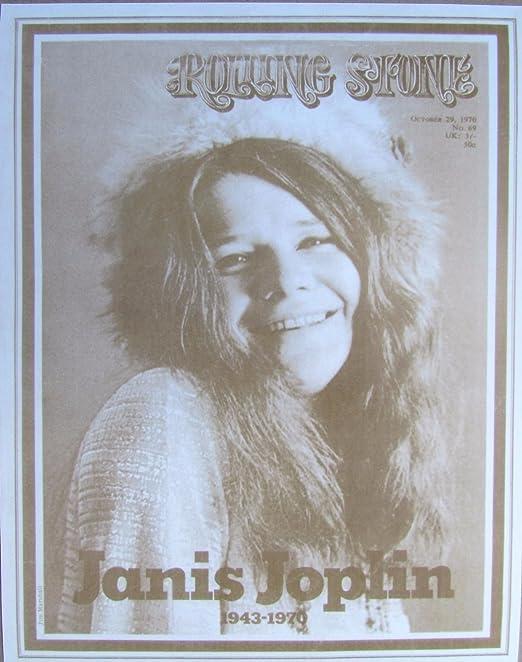 Janice Joplin Poster 24x36 inch rolled wall poster
