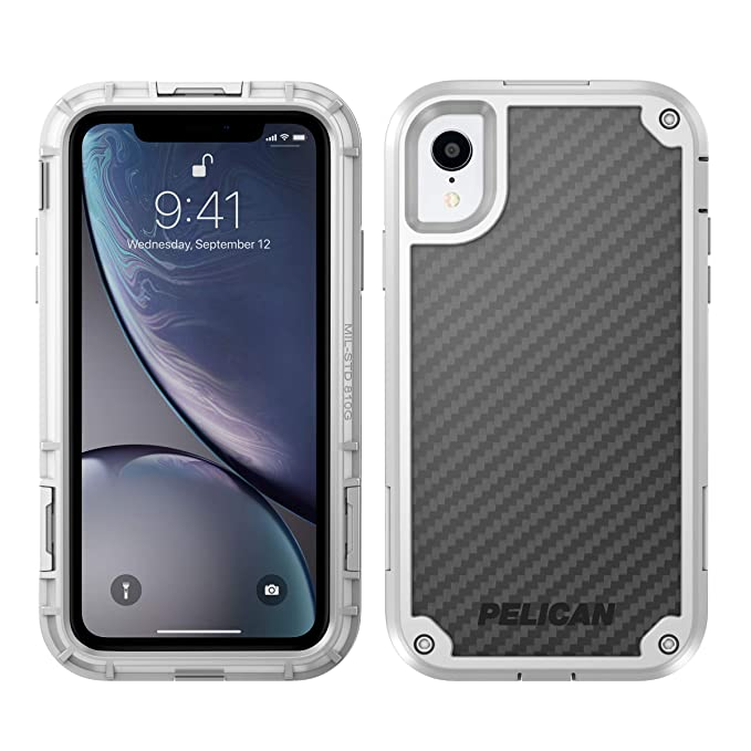 Pelican Shield - Carcasa para iPhone XR, diseño de Kevlar ...