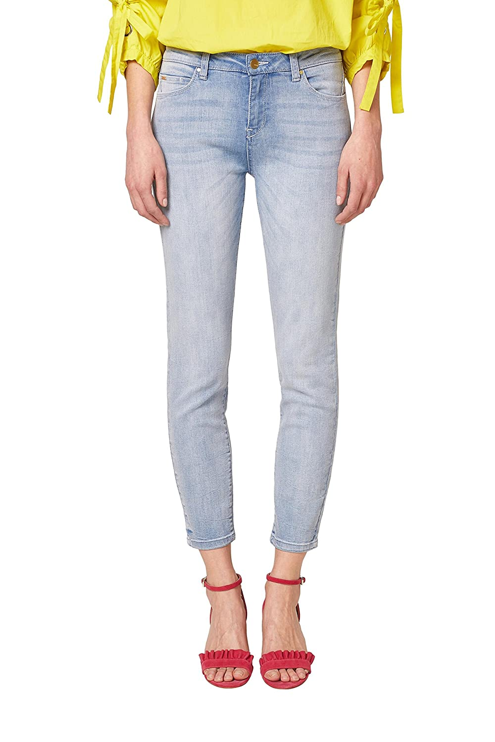 TALLA 29W / 28L. ESPRIT Collection Vaqueros Slim para Mujer