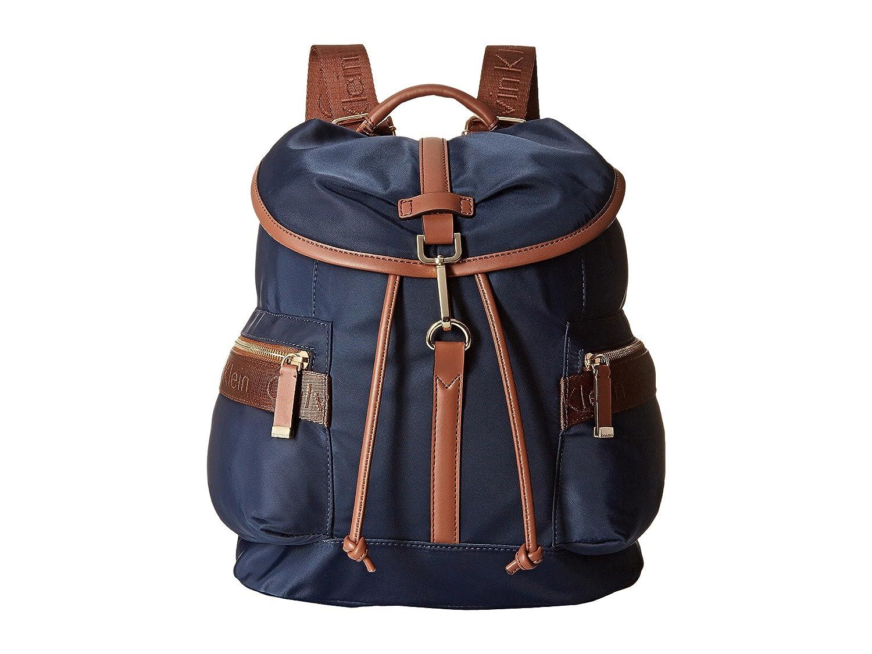 [カルバンクライン] Calvin Klein レディース Nylon Backpack バックパック [並行輸入品] B01N9790C2 ネイビー