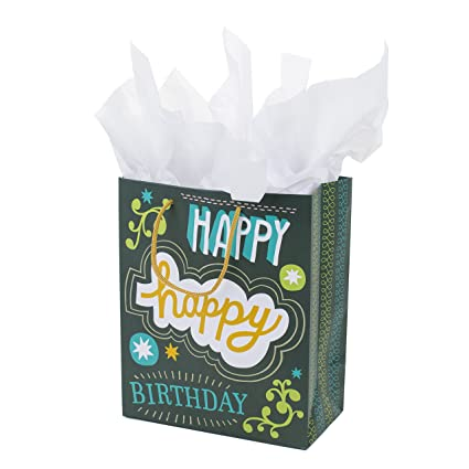 Amazon Hallmark Large Birthday Gift Bag With Tissue Paper