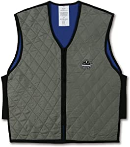 Ergodyne Chill-Its 6665 Evaporative Cooling Vest- Gray, XXX-Large