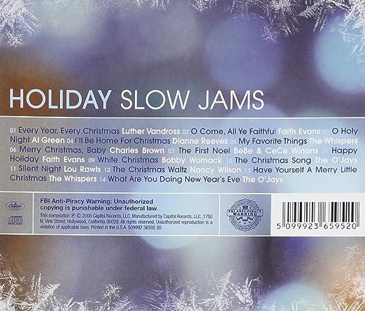Various Artists - Slow Jams: Holiday Slow Jams - Amazon.com Music