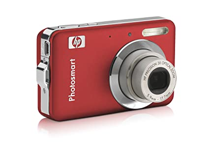 amazon com hp photosmart r742 red point and shoot digital rh amazon com