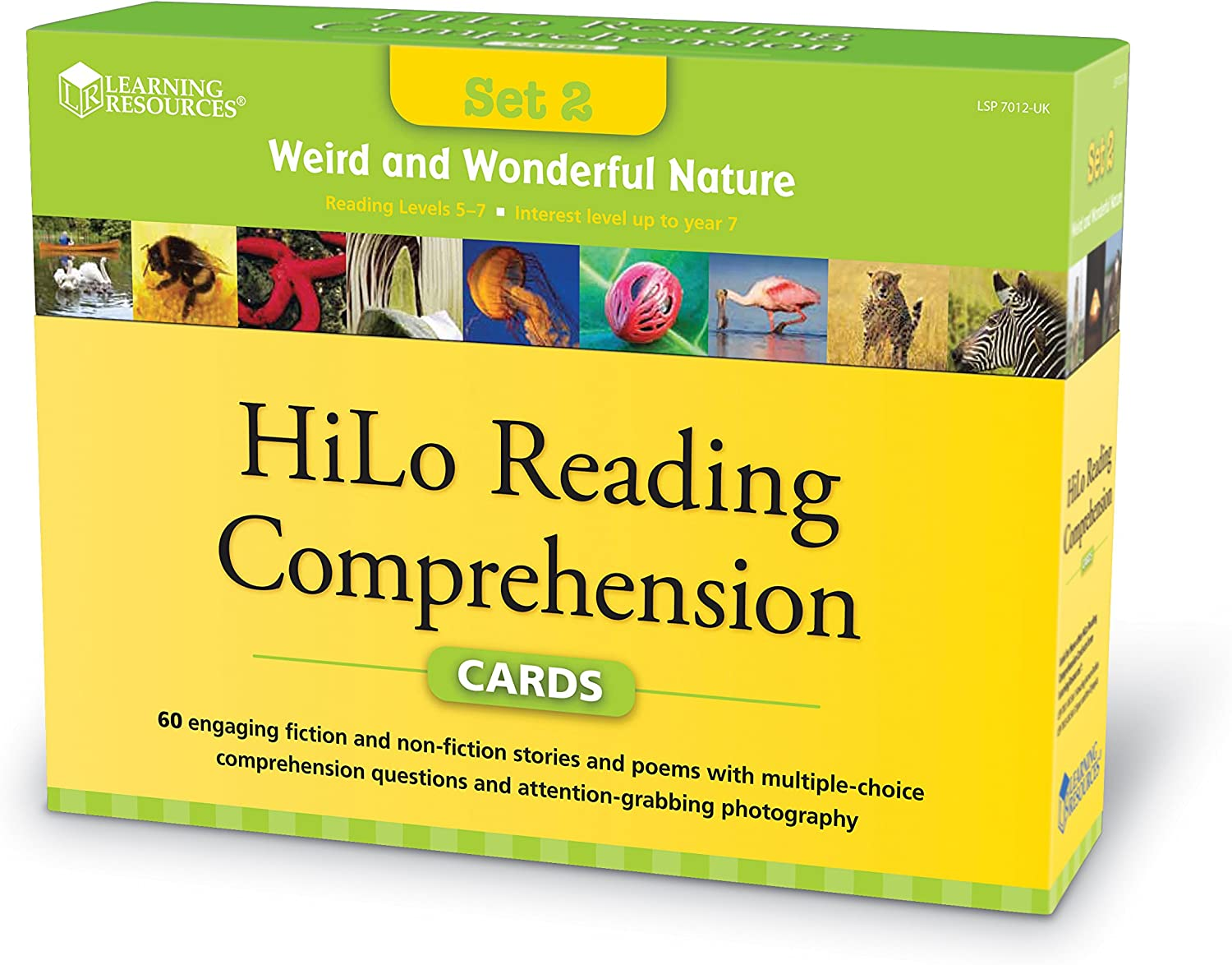 - Amazon.com: Learning Resources Hilo Reading Comprehension Cards
