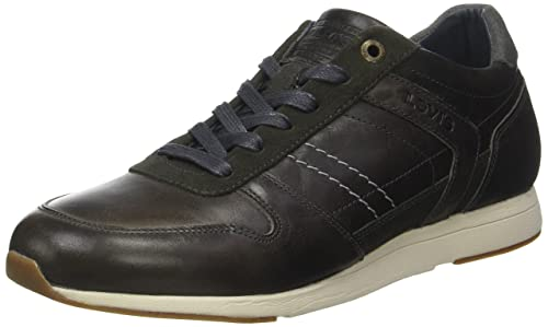 Levi'S Bristol, Zapatillas para Hombre, Gris (Dull Grey), 41 EU