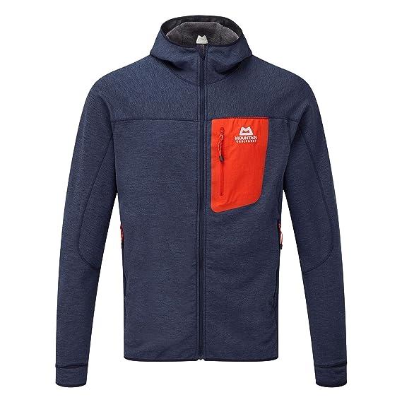 super.natural Herren M Mountain Fleece Track Merino Jacke