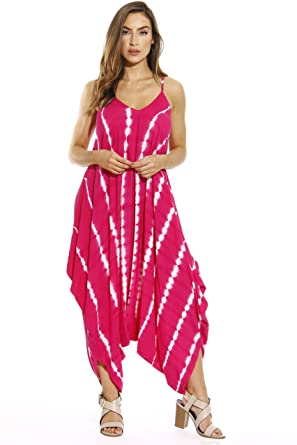 b846ac5a5580 Amazon.com  Riviera Sun Harem Jumpsuit Romper Jumpsuits for Women  Clothing