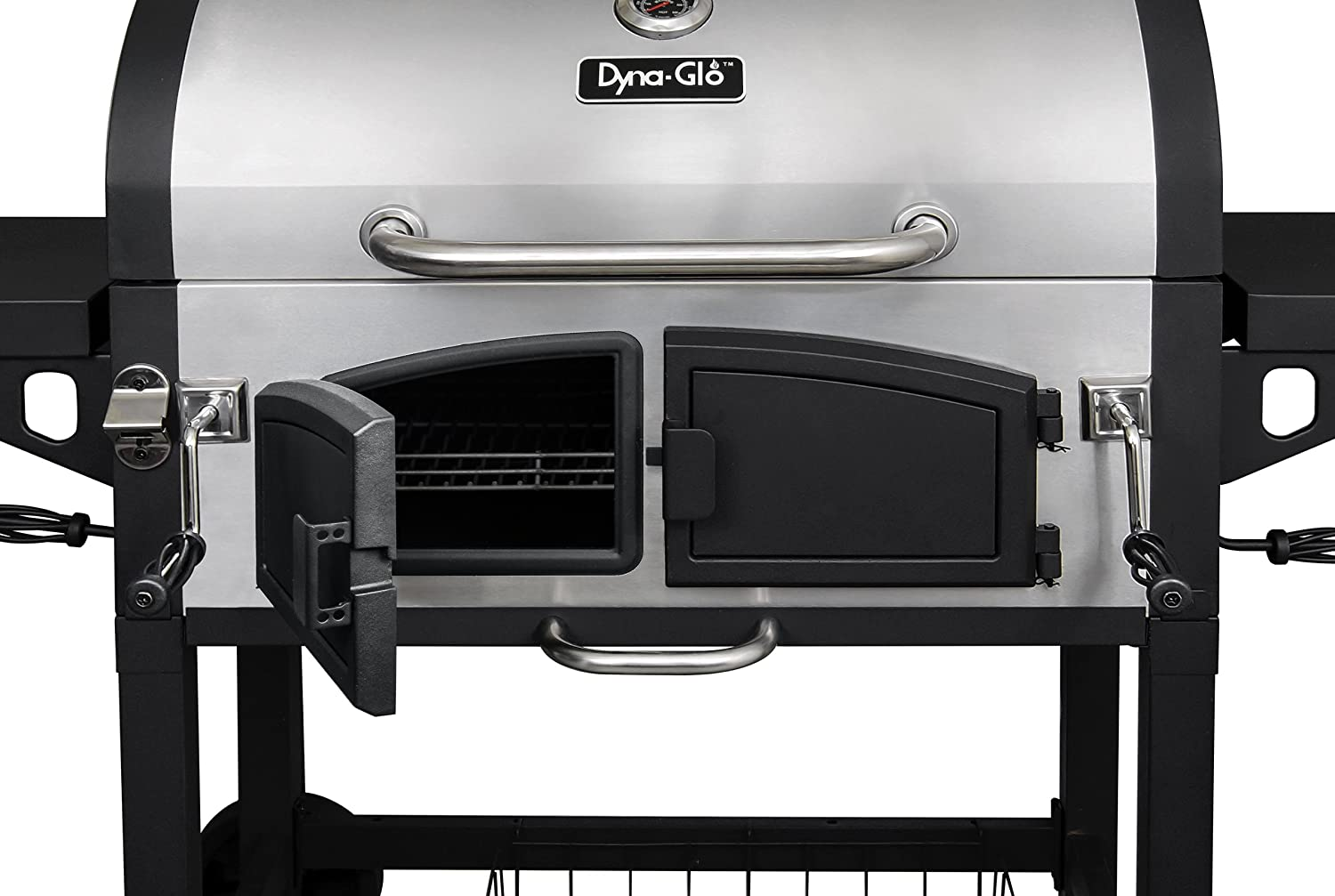 Incroyable Amazon.com : Dyna Glo DGN576SNC D Dual Zone Premium Charcoal Grill And  Premium Charcoal Grill Cover, Large : Garden U0026 Outdoor