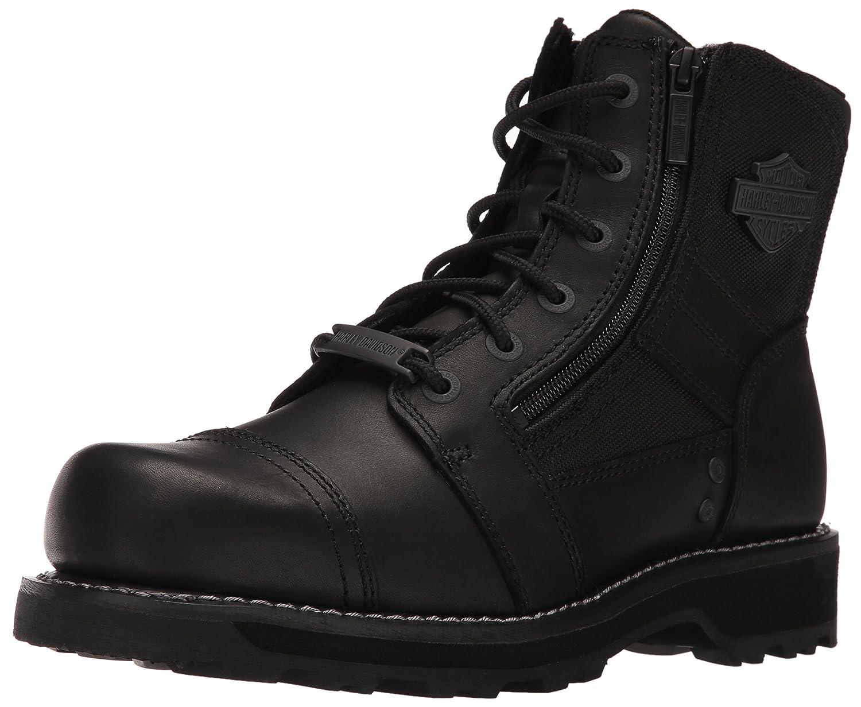 ハーレーダビッドソンメンズBonham Work Boot B01B40M7HI 7.5 D(M) US|ブラック ブラック 7.5 D(M) US