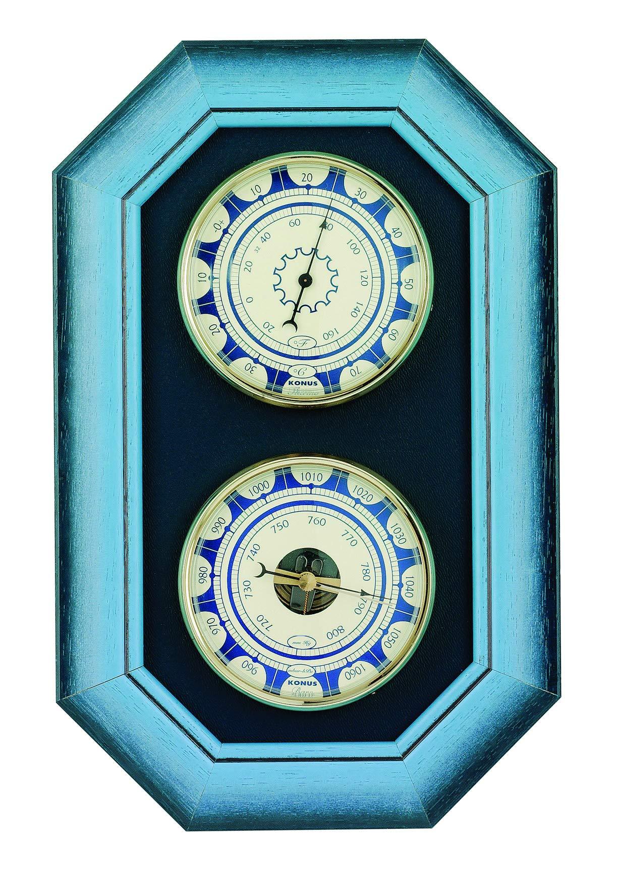 KONUS 6377 Azzurro-2 Double Wall Set, Multi-Colour, One Size
