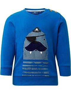 TOM TAILOR Baby-Jungen T-Shirt Placed Print Langarmshirt