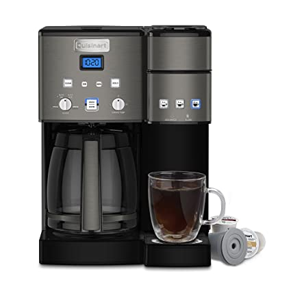 Amazon.com  Cuisinart Coffee Center Maker SS-15BKS Black  Kitchen ... 5bb4672b9