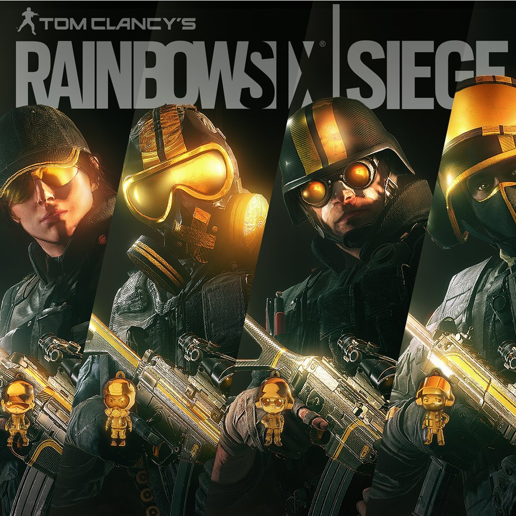 Amazon com: Tom Clancy's Rainbow Six Siege - Pro League Gold Sets
