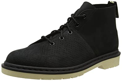 2f19704fbeb80 Dr. Martens Men's Church Vintage Smooth Chukka Boot, Black, 6 UK/7