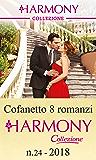 Cofanetto 8 romanzi Harmony Collezione - 24: Prigioniera di Kadar | Ricatto greco | Una notte per conquistarti | Un peccaminoso accordo | La segretaria ... resa del milionario (Cofanetto Collezione)