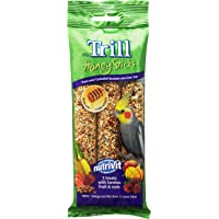 TRILL Honeystick for Cockatiels, 3 Pack, 105g