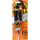 Gorilla Glue Epoxy, Dries Clear, Gap Filling, Indoor & Outdoor, Water Resistant, 5 Minute Set, Dries Clear Transparent, 0.85o