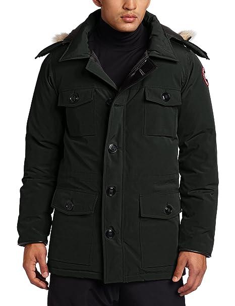 size 40 17f47 06ea4 Canada Goose Banff parka cappotto, Uomo, Forest Green, L ...