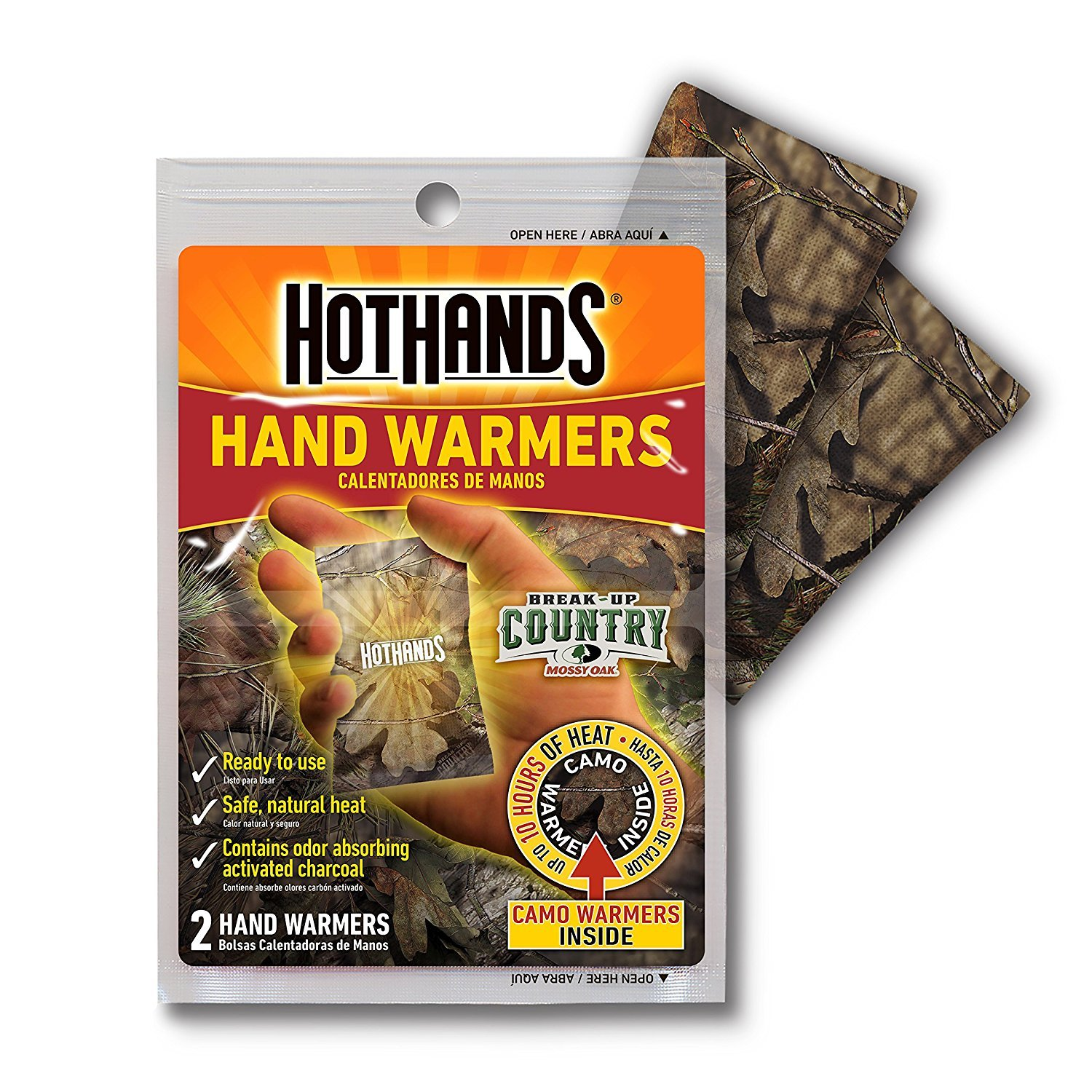 HotHands Mossy Oak Camo Hand warmers - 2 Pair by HotHands