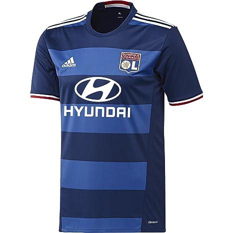 Adidas Lyon A JSY Camiseta 2ª Equipación Olympique de Marsella 2015/16, Hombre,